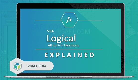 VBA Logical Functions