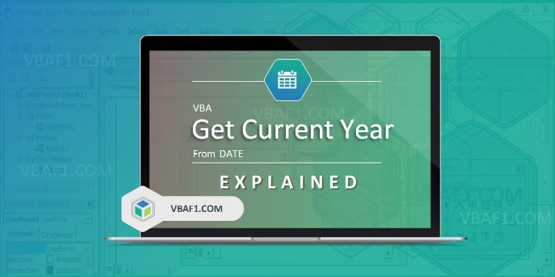 VBA Get current Year