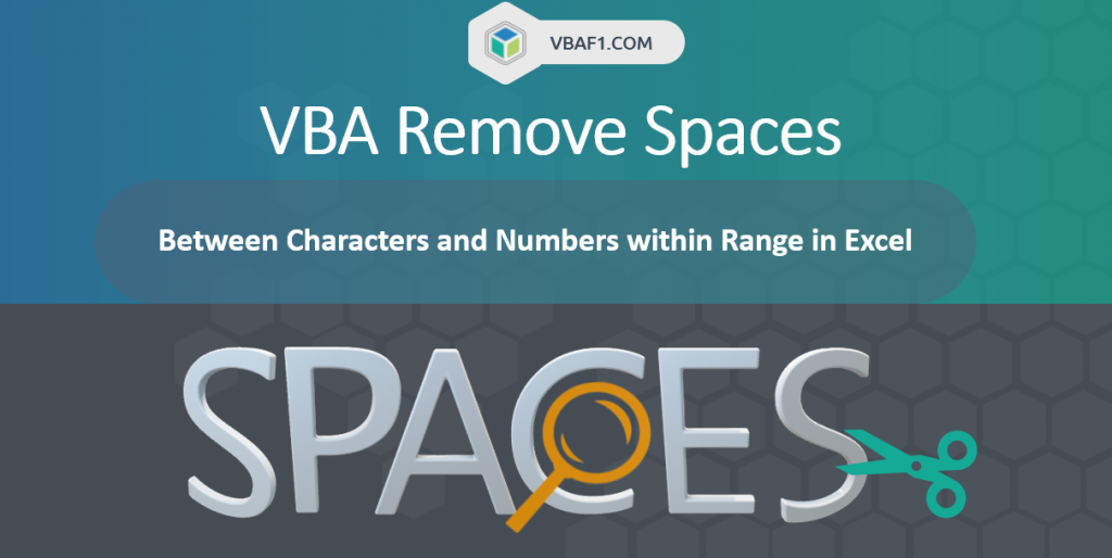 VBA Remove Spaces Between Numbers and Characters fi