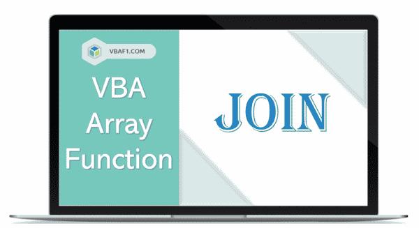 VBA Array Join function