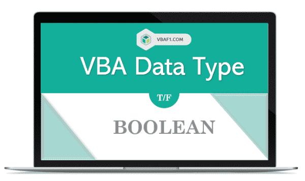 VBA Boolean Data Type in Excel
