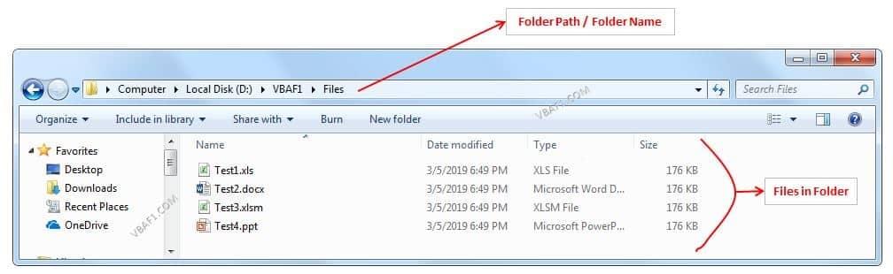 VBA Loop Through all Files in a Folder