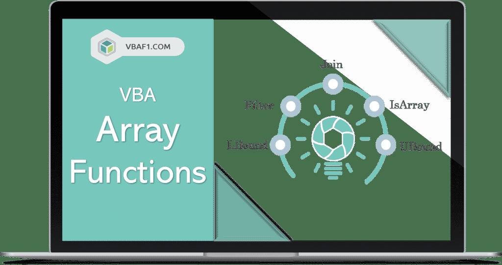 VBA Array Functions
