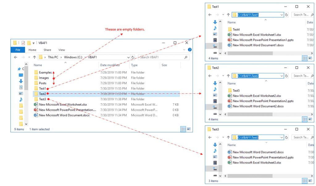 VBA Loop Through all Files in subfolders