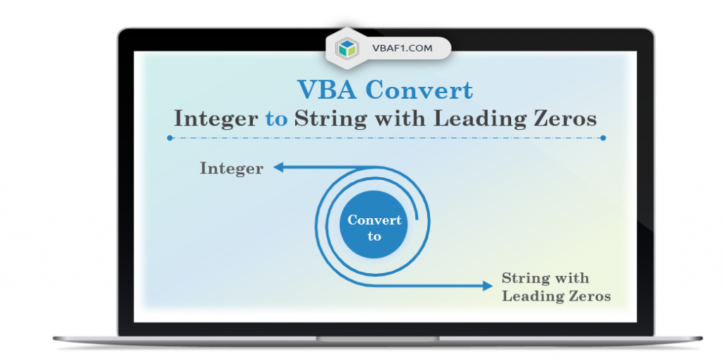 VBA Convert Integer To String With Leading Zeros