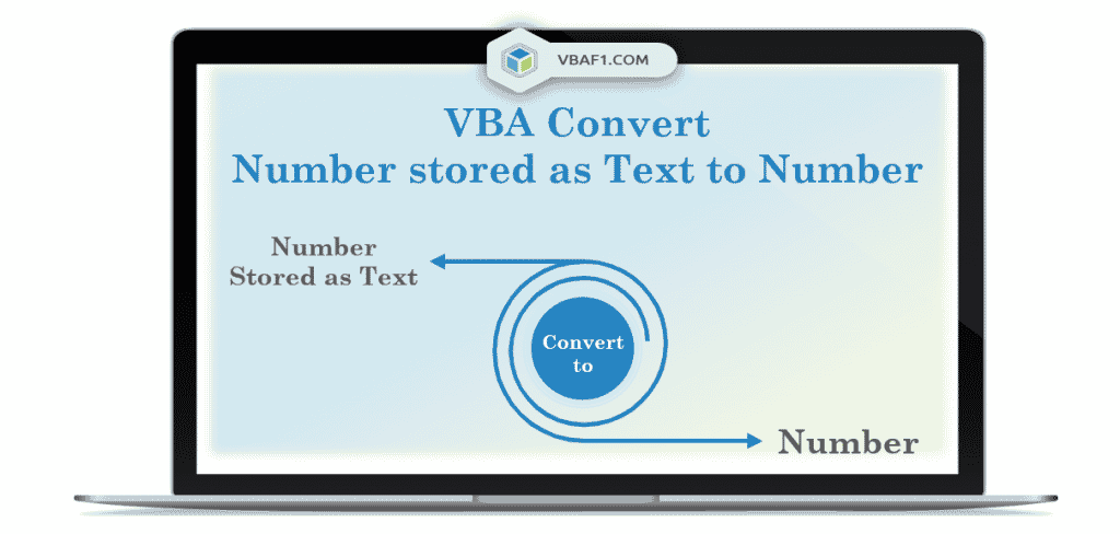 VBA Convert Number Stored as Text to Number