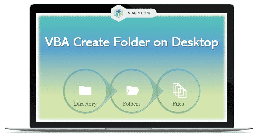 VBA Create Folder on Desktop