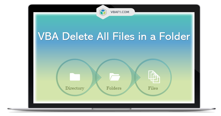 VBA Delete All Files in a Folder