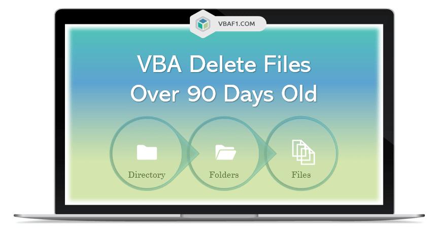 VBA Delete Files over 90 Days old