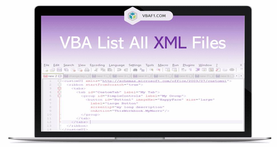 VBA Loop Through all XML Files