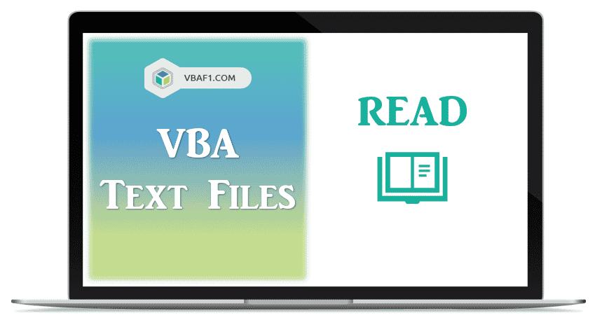 VBA Read Text Files