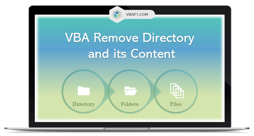 VBA Remove Directory and its Content