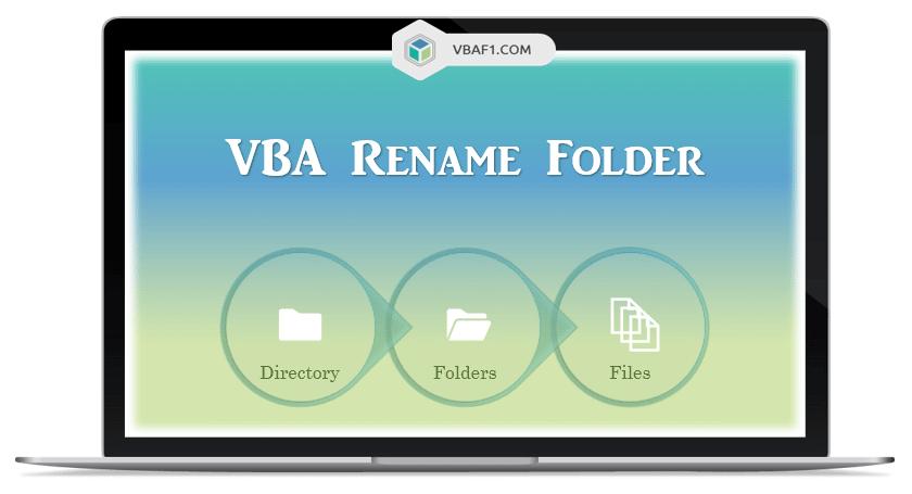 VBA Rename Folder