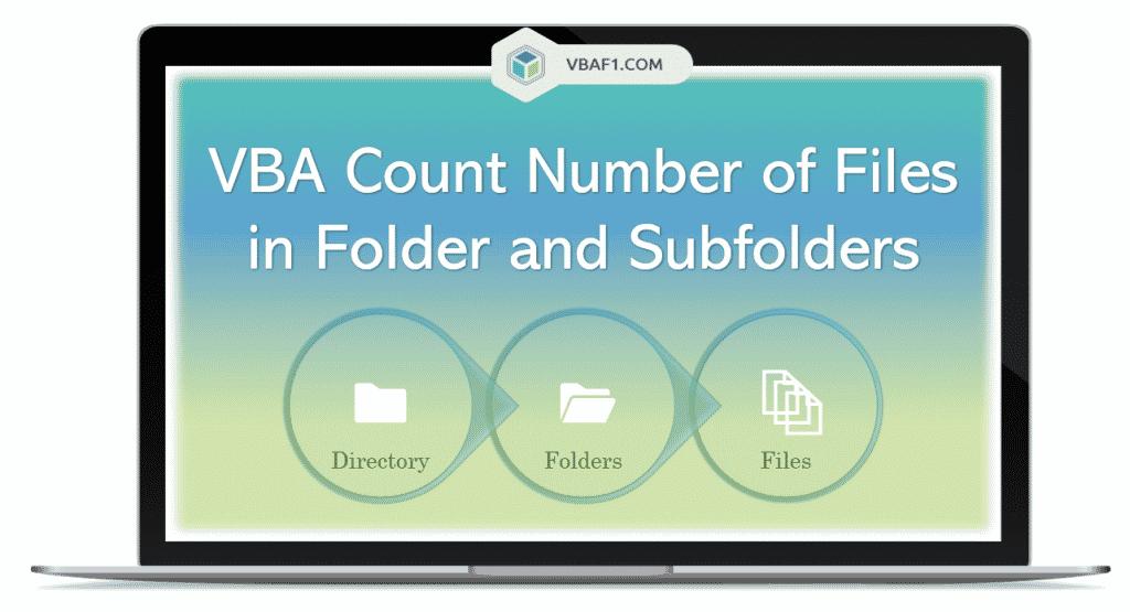 VBA Count Files in Folder and Subfolders
