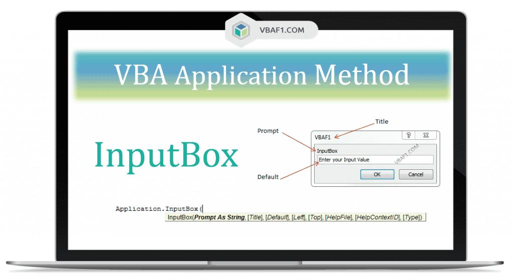 VBA Application InputBox Method