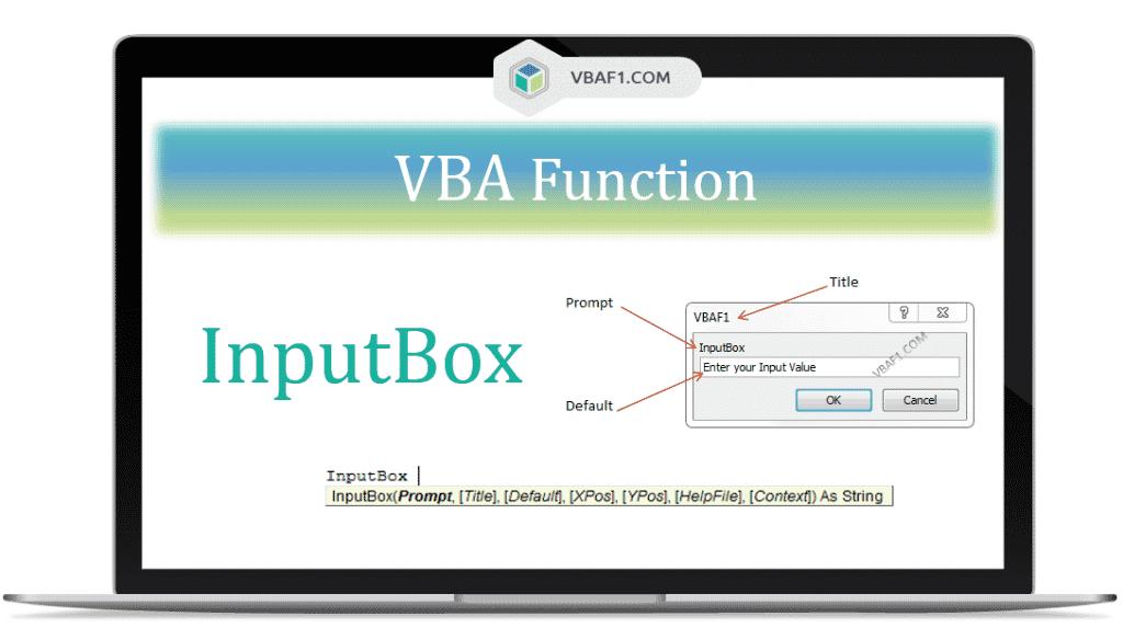 VBA InputBox Function