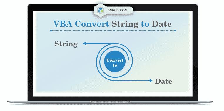 VBA Convert String to Date
